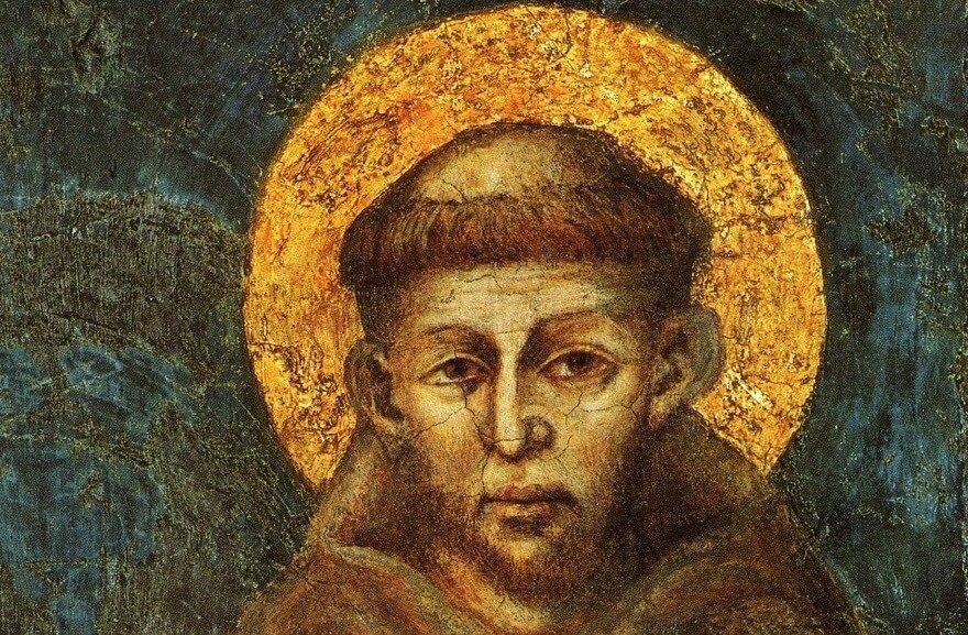 Cimabue - Svatý František z Assisi
