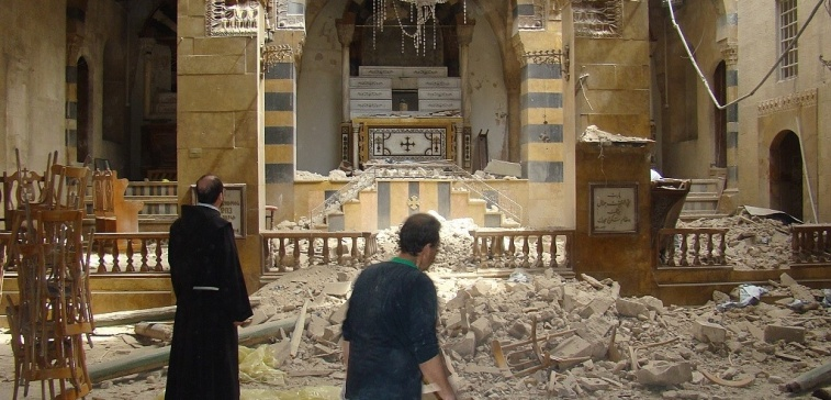 Františkán v Sýrii