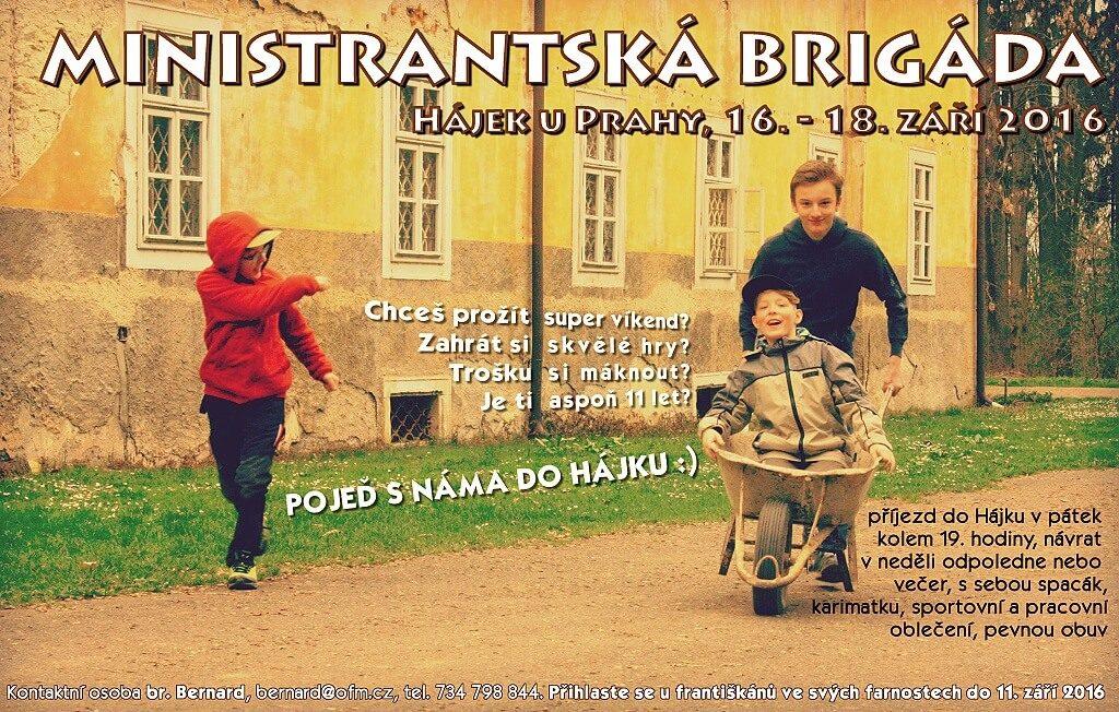 mini brigada podzim 2016 plakat
